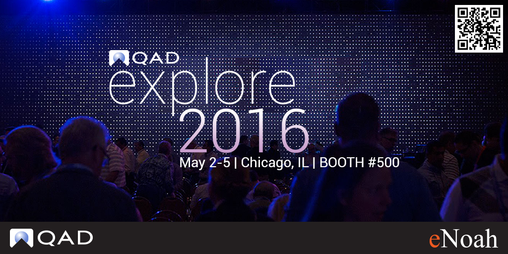 eNoah at QAD Explore 2016