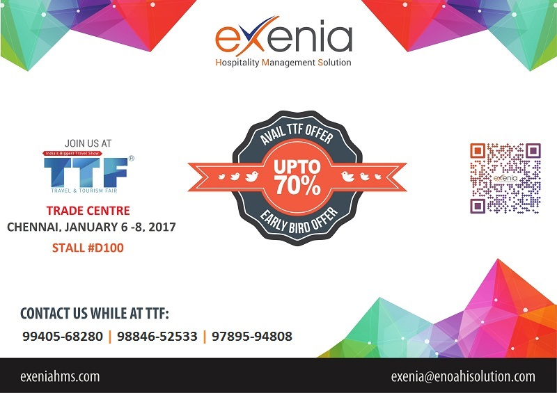 eXenia HMS at TTF Chennai 2017