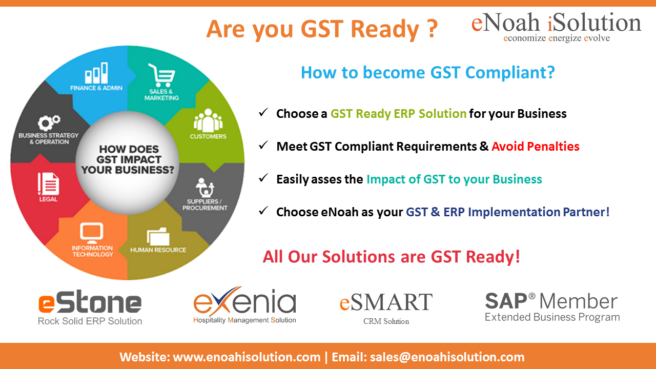 eNoah's GST Ready Solutions