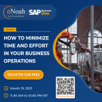 Webinar: How to Minimize Time and Effort in your Business Operations