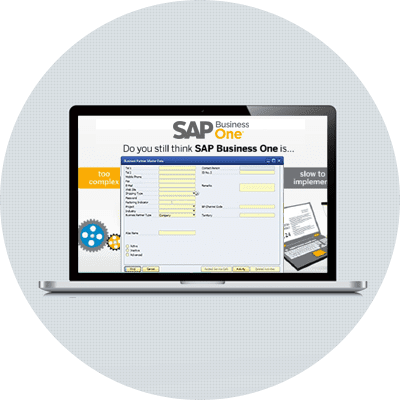 SAP B1 - Single ERP to Manage Entire Business