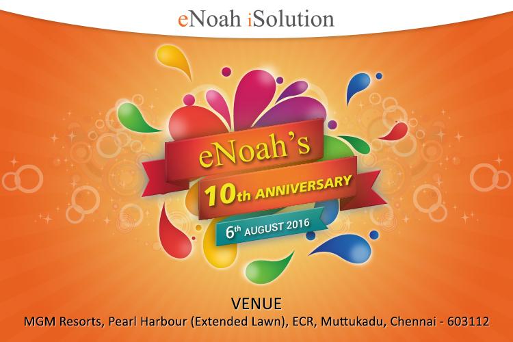 eNoah 10th Anniversary