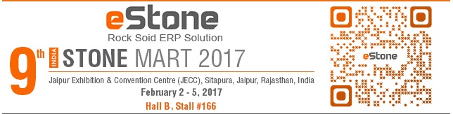 eStone at India Stone Mar 2017