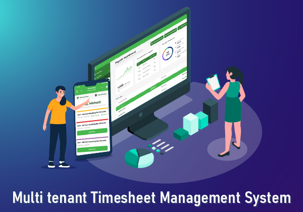 Multi tenant Timesheet Management System with Third-party Integration