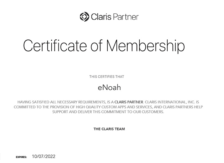 Claris-Partner-Certificate